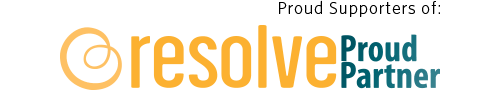 Resolve proud partner supporters logo
