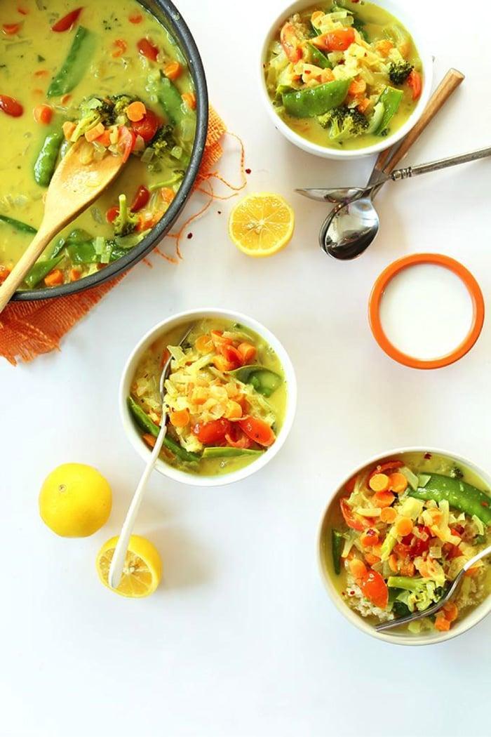 Quinoa Coconut Curry