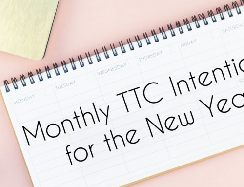 Monthly TTC Goals for the New Year